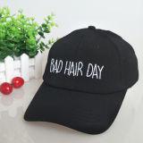 Gorra de béisbol de encargo del sombrero del partido del ocio
