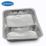 Square realizar um recipiente de alumínio para alimentos