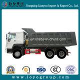 使用されたHOWOのダンプトラック6X4の採鉱トラック