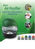 Mini purificador iónico Energy-Saving Home do ar