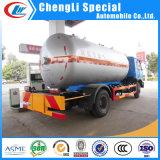 販売のためのDongfeng 4X2 5.5cbm LPGのタンク車