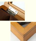 8 ranuras Mostrar caja de madera Ver Cajas de madera de Relojería y Joyería