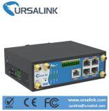 De industriële M2m Router van Gigabit Ethernet 4G met de Dubbele Groef van Kaarten SIM
