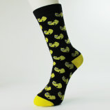 Großhandelsform-trifft kundenspezifisches Mann-Kleid Geschäfts-Socken hart