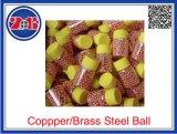 Kupfernes Gold verzinnte Stahlkugeln 4.5mm