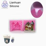 Utilizar el molde líquido de la madre del caucho y de la fibra de vidrio de silicón para copiar su juguete del yeso