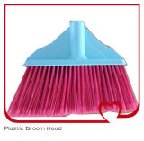Flagged головка веника чистки конца щетинок пластичная