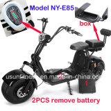 Мощный зеленый электрический скутер с 01- 60V 2000Вт Бесщеточный двигатель