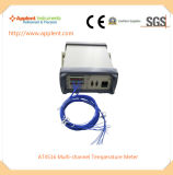 0.2%+1c 정확도를 가진 USB 온도 데이터 기록 장치 (AT4516)
