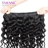 Fabrik-Preis-peruanische Jungfrau-Haar-Webart-Italien-lockige natürliche Farbe