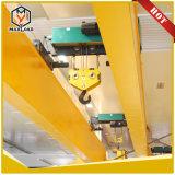Doppia gru elettrica della fune metallica della trave da 50 tonnellate (MLER50-06D)