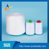100% закрученная резьба вышивки ткани полиэфира для соткать и вязать