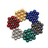 As esferas magnéticas Puzzle desenvolver inteligência do bloco do magneto e alívio do estresse, Estresse Ball