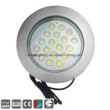 LED empotrado bajo el agua de la luz de la Piscina 54W