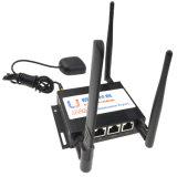 Router industrial de M2m WiFi 4G Lte Openwrt com o router de WiFi do carro de Lte da ranhura para cartão de SIM para o ATM