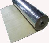 onderstroom van het Schuim van 2.5mm de Goedkope Akoestische Rubber met Zilveren Folie