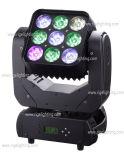 9*10W RGBW 4in1 LEDのビーム移動ヘッドライト