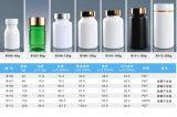 Kronen-Schutzkappen-Haustier-Flasche für das Kapsel-Medizin-Kunststoffgehäuse
