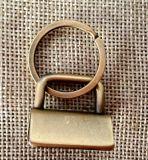 Sacos/Hardware Key-Fob Metal abraçadeira metálica