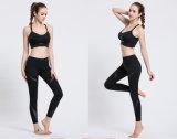 Comercio al por mayor hechizo el hilado suave cintura alta apoyar a las mujeres Yoga Leggings