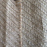 Paño de la arpillera del yute del estilo del diagrama de la espina de pez