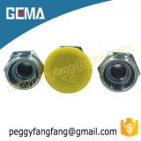 Mâle 10411 métrique 24 ajustages de précision hydrauliques de picot de boyau de couplage mâle de degré (cel)