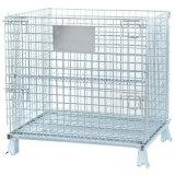 El equipo de alambre de malla de acero de la jaula de almacenamiento de contenedores