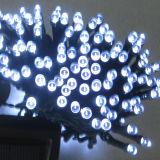 Cadena solar accionada solar de la luz de hadas de la luz los 33FT 11meters 60LED de la cadena para el jardín, al aire libre, casero, fiesta de Navidad