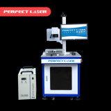 machine UV en plastique d'inscription de laser en métal de 3W 5W 8W 355nm avec la couverture incluse Cabient