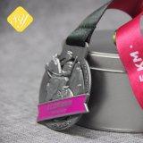 Оптовая торговля эмаль работает футбольного марафона чудесное литой спортивные медали