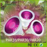 O diodo emissor de luz o mais novo cresce PAR38 claro 15W E26 E27 para o estilo novo azul vermelho do bulbo orgânico Home para todos os tipos das plantas