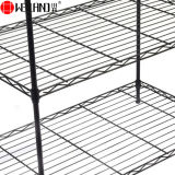 Billig 5 Regal-leichtes Metallbüro-Speicher-Draht-Racking und Fach-Gerät für Verkauf