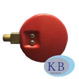 Quality 높은 63mm 70mm Steel St. 304 Case Red와 Blue Low OEM Refrigerant Pressure Gauges