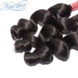 Estensione di trama dei capelli umani dell'onda allentata cinese non trattata naturale di 100%