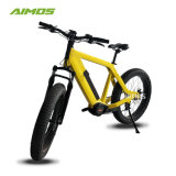 Color amarillo de 48V 1000W unidad Enduro Ebike media
