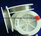 Alambre de tungsteno de blanco, de 0,8 mm de diámetro del alambre de tungsteno en la industria de iluminación