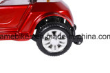 無効か大人のための2つのシートが付いている4つの車輪の電力のゴルフ車かFoldable電気移動性のスクーター