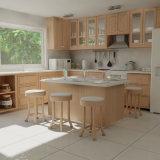 Copia de melamina de grano de madera MDF Personalizar Armario de Cocina