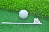 Golfe que bate a almofada da grama do golfe da esteira para a escala de condução