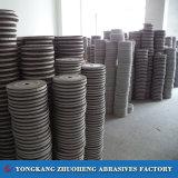 Rodas de moedura da aleta dos abrasivos do óxido de alumínio da precisão para moedores 250mm*100mm*36mm