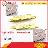 Pin personalizado do Lapel do emblema conhecido do ouro da prata da venda cor quente