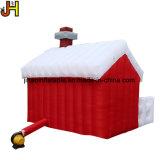 3x3m gonflable Maison de Noël pour la décoration de Noël