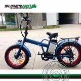 뚱뚱한 타이어를 가진 전기 자전거 Ebike를 접히는 350W