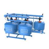 Système industriel de filtre de medias de sable de filtre d'eau