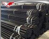 Tubo saldato nero del acciaio al carbonio di ASTM A53 Sch40