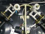 Variopinto costruito in fresa del gas dell'acciaio inossidabile con 3 bruciatori