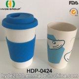 2016 Hot Sales Eco-Friendly Copo de café de fibra de bambu orgânica (HDP-0424)