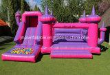 Dach-Plättchen-Teich-Kugeln der Prinzessin-Gym Large Jumping Castle für Verkauf