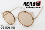 Óculos de sol da forma da gota da água com linha de frame dois Km17211