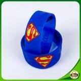 Frohe Weihnacht-Geschenk-SilikonWristband mit Supermann